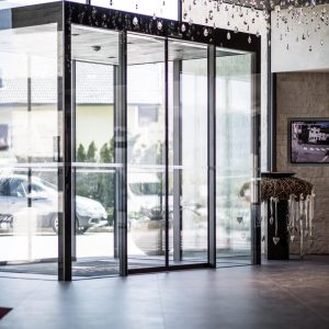 Automatic door, Hotel Weinegg