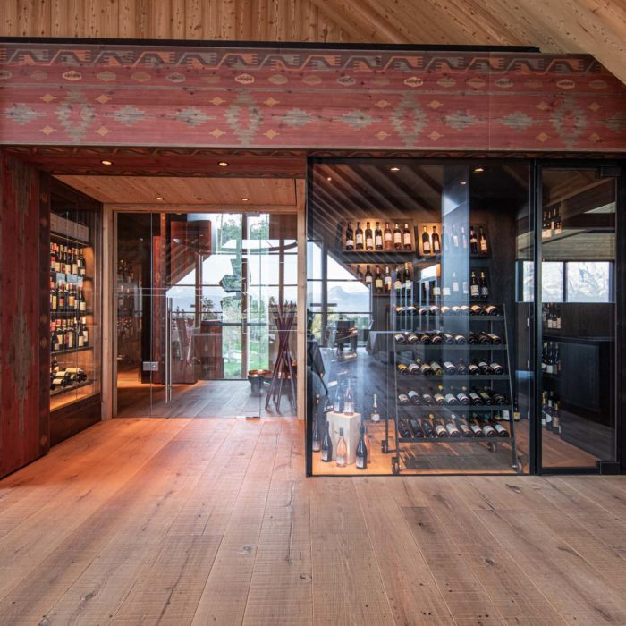 Wine cabinet, Adler Lodge Ritten