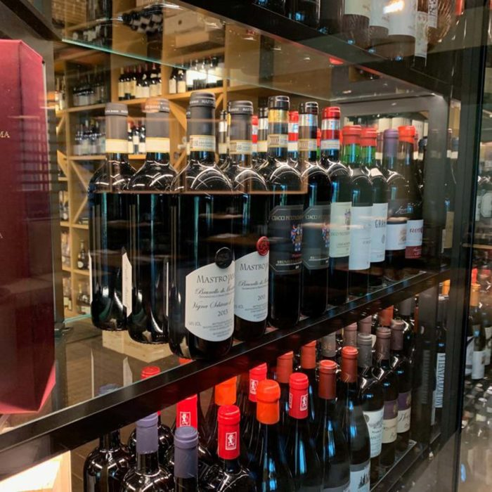 Wine cabinet, Lefay Resort & Spa Dolomiti