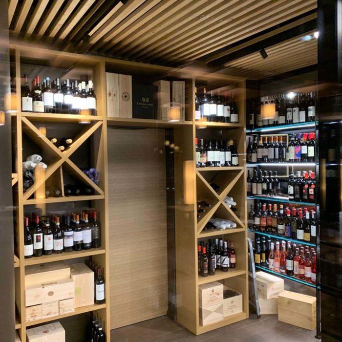 Cantina frigo, Lefay Resort & Spa Dolomiti