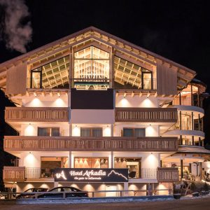 Fassade, Hotel Arkadia