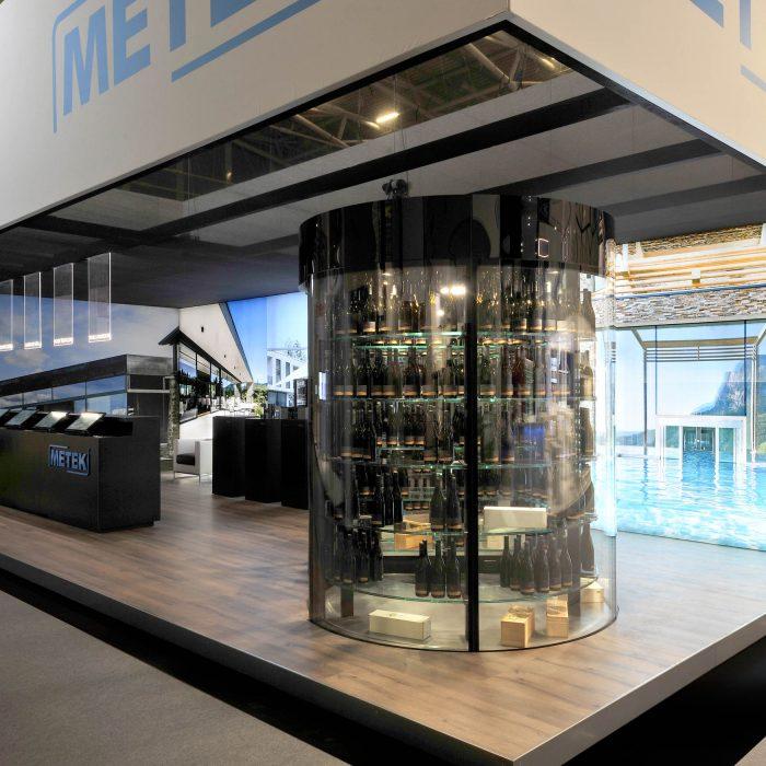 Wine cabinet, Stand Metek