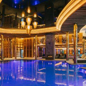 Underwater swimming pool doors, Ortner´s Resort