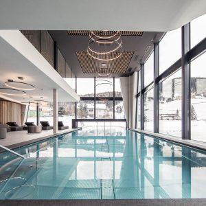 Schwimmbadschleuse, Hotel Störes