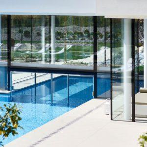 Schwimmbadschleuse, Hotel Hanswirt