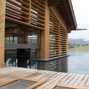 Schwimmbadschleuse, Hotel Adler Mountain Lodge