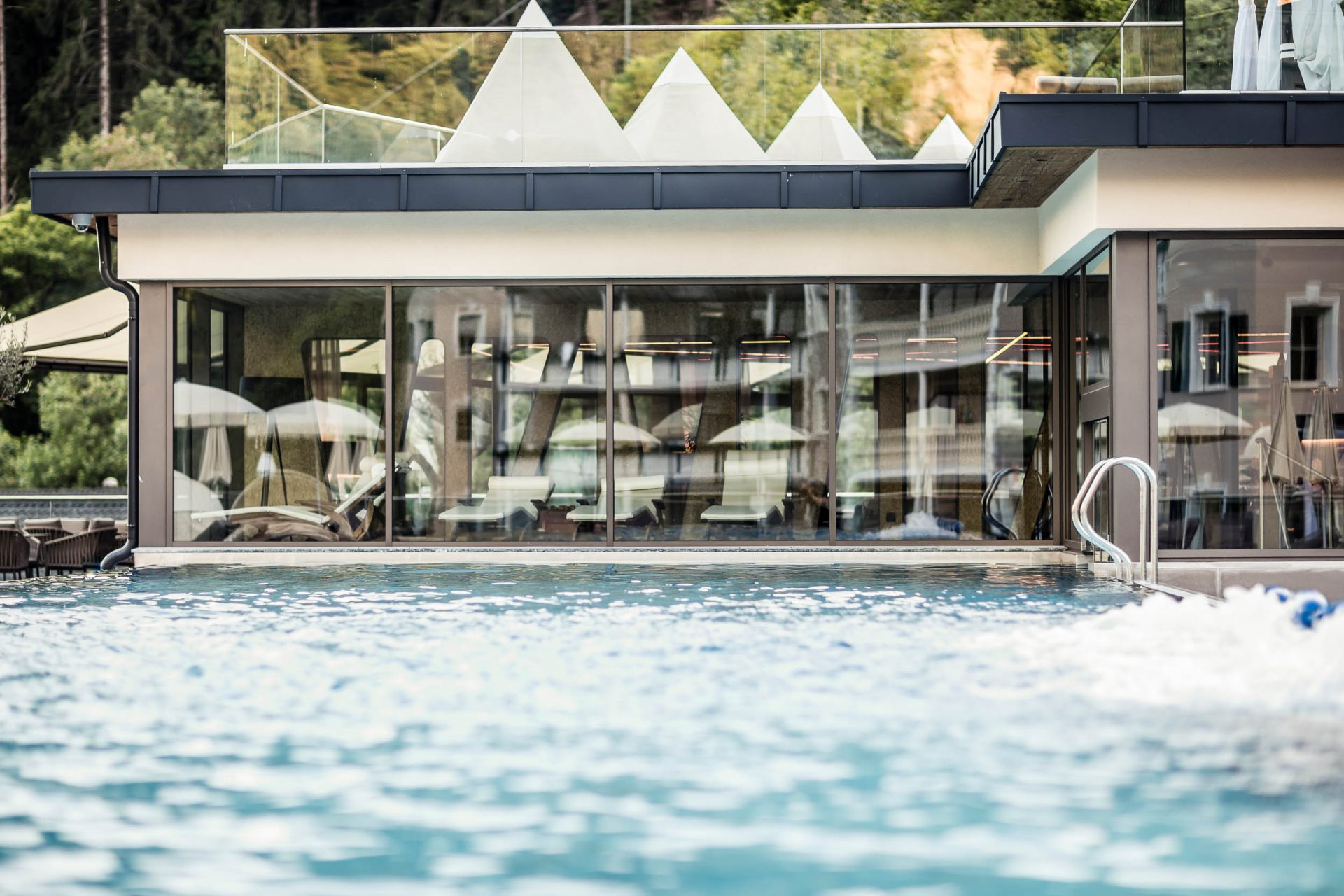Underwater Swimming Pool Doors Automatic Doors Glass