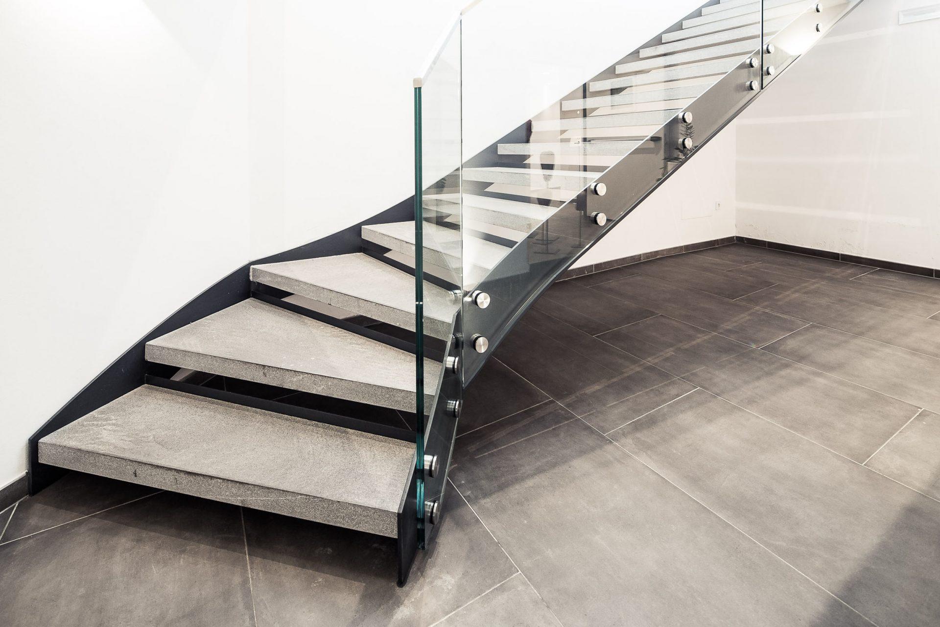 Glass U0026 Steel Stair, Hotel Weinegg ...