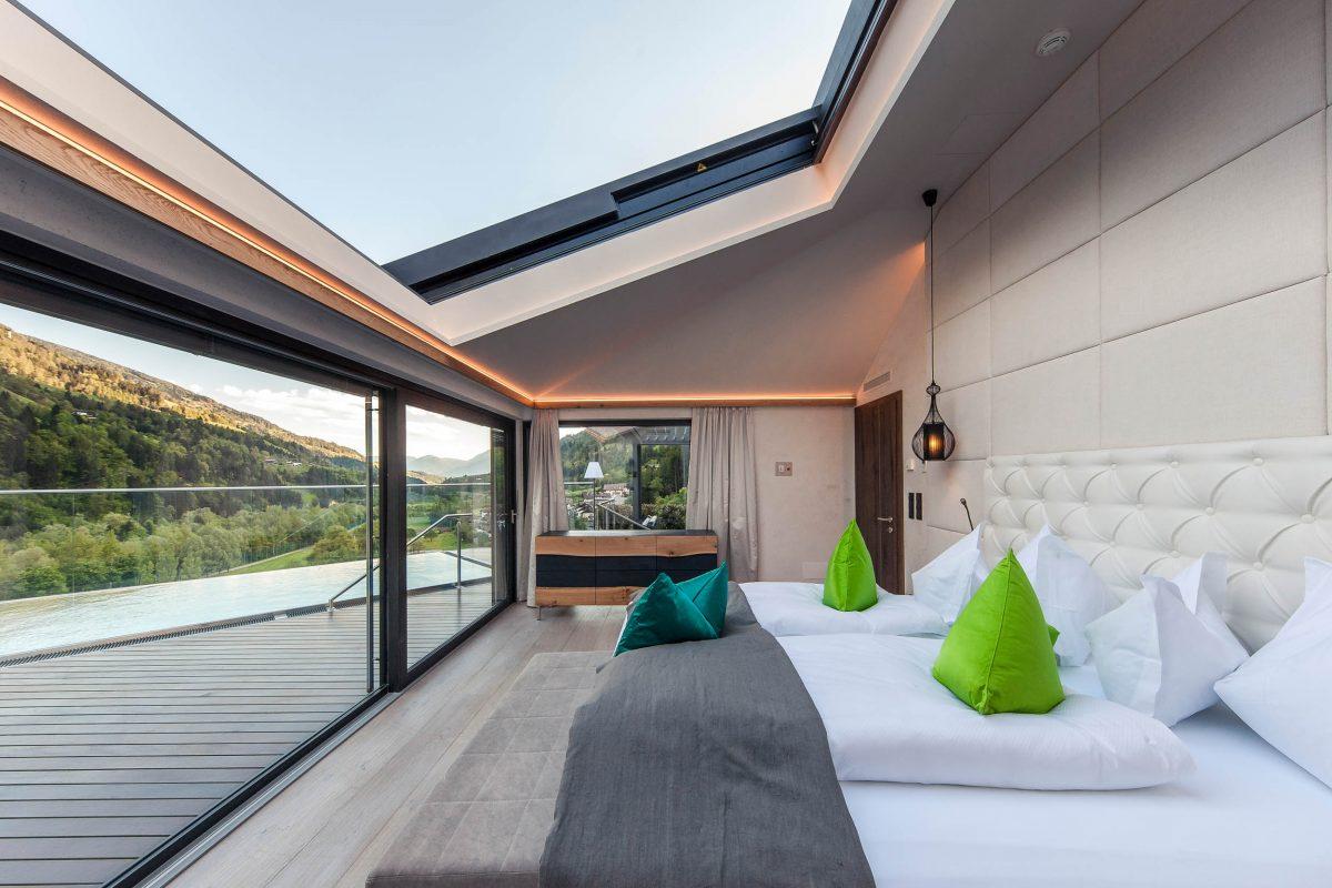 Panoramic sliding windows, Quellenhof