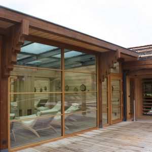 Panoramaöffnung, Adler Mountain Lodge