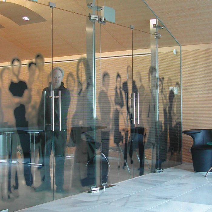 Glastrennwand, Raika Sterzing