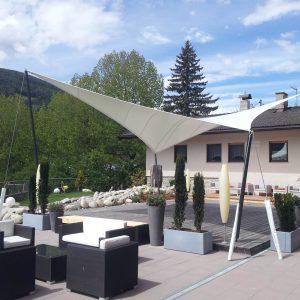 Sonnensegel, Hotel Kronblick
