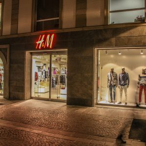 Shop portal, H&M Bolzano