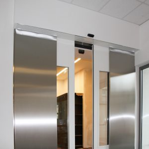 Automatic fireproof door, Kolping Haus