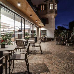 Fassade, Restaurant Pizzeria Meraner