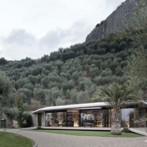 "Facade and interior glazing | project: ""Frantoio"" in Arco-Gardasee (TN), photographer: Aldo Amoretti"